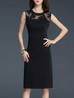 0710a5ee0b Pleated Vintage Polyester Floral Sleeveless Midi Dress Midi Dresses