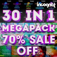 Incognet - 30 In 1! Megapack WAV MiDi Sylenth NI Massive Spire Presets Full and FREE Download