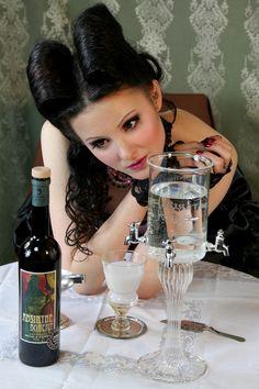 Absinthe Boheme in burlesque world.