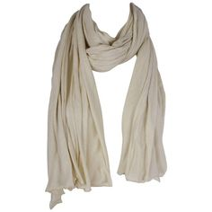 American Vintage Louisiane Scarf in Nude ($29) ❤ liked on Polyvore featuring accessories, scarves, acessorios, bufandas, lenços, nude, american vintage, lightweight scarves, lightweight summer scarves and vintage shawl