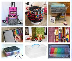 Portable Play Therapy Ideas