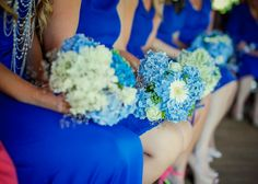 beuqiet bukiety drihny bridesmaids chabrowy corn flower wesele wedding
