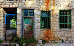 Taken at the village of Rosh Pina (corner stone), a popular artists/tourists location in the north of Israel, not far from the town of Sefad. Photo by Uri Baruch