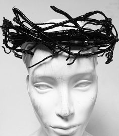 A personal favorite from my Etsy shop https://www.etsy.com/listing/253012504/black-rose-thorn-crown