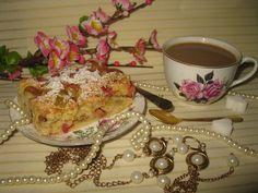 Moje domowe kucharzenie: Ciasto z rabarbarem