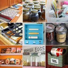 20 Tips and Tools for Kitchen Organisation and Storage Kitchen Organization, Kitchen Storage, Storage Organization, Kitchen Tips, Storage Ideas, Organized Kitchen, Pantry Storage, Creative Storage, Kitchen Drawers