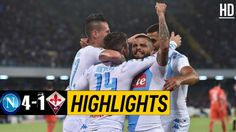 The Football Match Between Napoli vs Fiorentina. Mertens, The Final Result of The Game is Napoli Fiorentina. Watch Football, Football Match, Italian League, Match Highlights, Goals, Baseball Cards, Sports, Hs Sports, Sport