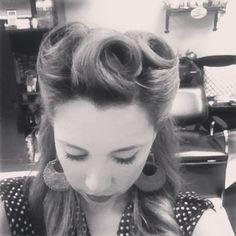 my pin up hair
