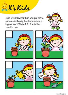 ilustrations of pictures making a story - Yahoo Image Search Results Sequencing Worksheets, Sequencing Cards, Worksheets For Kids, Picture Story Writing, Picture Story For Kids, Picture Books, Teaching Kids, Kids Learning, Autism Activities