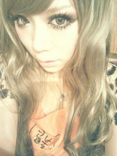gyaru makeup | Tumblr