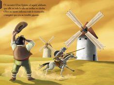 El Quijote en imágenes comentadas | Plasmaciones y representaciones visuales del universo quijotesco. Elaborado por alumnos de 1.º bach. del INS Ramon Coll i Rodés (Lloret de Mar) | Pàgina 6