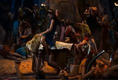 Screenshot: Moses returns from Mt.Sinai, Who is on the LORD'S side? let him come unto me - YouTube Come Unto Me, Priest, Dancing, Lion, Blessed, Let It Be, Concert, Youtube, People