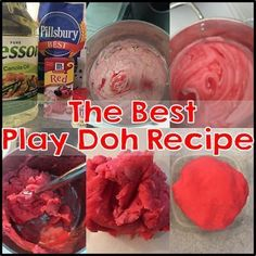 The best play doh recipe