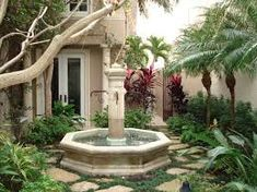 Image result for mediterranean water fountains