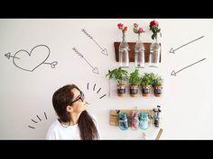 ¡HAZ TUS PROPIOS ORGANIZADORES DE PARED! ♥ - Yuya - YouTube