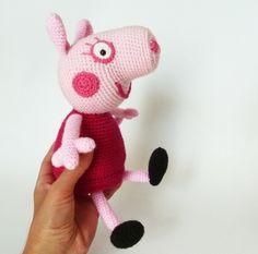 Amigurumi Peppa Pig Free Pattern