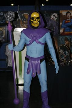 Awesome costume of Skeletor cosplay pics from Puerto Rico!