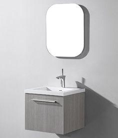 Arezzo - 20 Ash Grey - Modern bathroom furniture