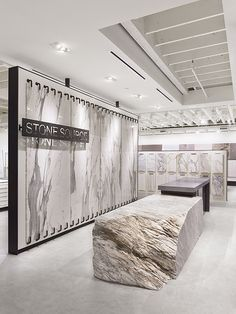 Stone Source Los Angeles Showroom + Warehouse.