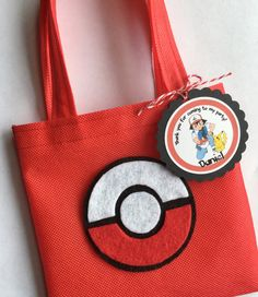 These treat bags are a perfect addition to your Pokemon themed party. It's the…
