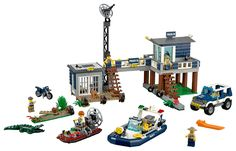 Lego 60069 Swamp Police Station 2015 Retired Complete New Manuals Free Shipping