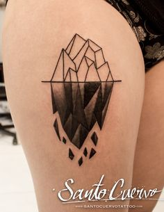 Iceberg Tattoo by Alex Alvarado. Vegan friendly tattoo and piercing studio in Hackney, North London. Specialised in modern tattoos, such as watercolour, realism and geometry.