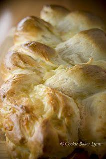 Cheesy French Braid Loaf