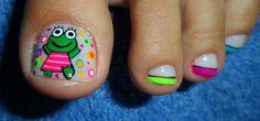Animales Pretty Pedicures, Pretty Toe Nails, Pretty Toes, Fun Nails, Toe Nail Art, Manicure, Nail Designs, Hair Beauty, Diana