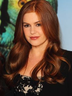 Think I could pull off the red hair?    I've always wanted to go there, but been too scared!
