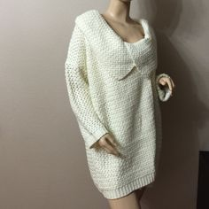 NWOT BIG DRESS SWEATER Really cozy warm sweater dress perfect to wear with some leggings and boots Dani Collection Sweaters