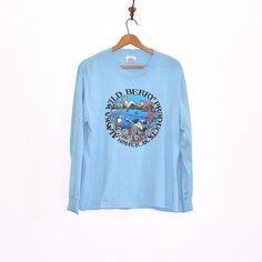 70s Long Sleeve T Shirt VIntage Alaska by thatwasagoodyear