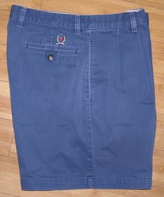 """Men's Tommy Hilfiger Vintage Old Logo Casual Golf Dress Shorts Adult Size 36 5""""L #TommyHilfiger #CasualShorts"""