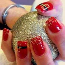 gelnagel muster fr die adventszeit und weihnachten nageldesign muster pinterest dekoration - Muster Fur Gelnagel