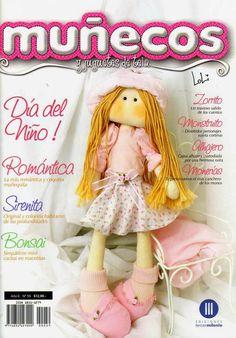Revistas de manualidades Gratis: Revista gratis muñecas de tela