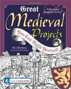 History comes to life in this interactive guide to the Middle Ages, which explores the fascinating period leading up to the Renaissance including siege warfare, markets and fairs, medieval medicine, and the feudal system. Teaching Social Studies, Teaching History, History Education, Teaching Tools, Medieval Crafts, Medieval Games, Medieval Recipes, Medieval Banquet, Middle Ages History