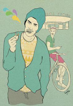 Magdalena Pankiewicz Ilustration / Personal work / Men's fashion