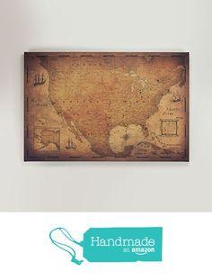 USA Travel Map Pin Board