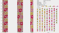 """flower meadow"" 18 bis. (Both formats) / Diagrams / Bead"