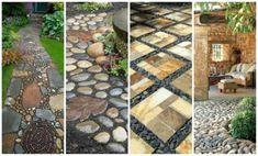 15015564042846_27384288_db Green Garden, Stone Art, Pathways, Firewood, Gardening Tips, Architecture Design, Garden Design, Backyard, Creative