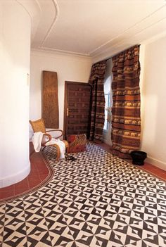 D ciment tiles on pinterest cement tiles encaustic - Carrelage aspect carreaux de ciment ...