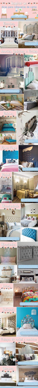 Inspire-se: dicas para cabeceiras de cama - Blog da Mimis #cabeceira #cama…
