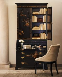 An elegant statement piece, of heirloom quality: the #RLHome Magdalene Secretary.