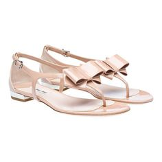 the perfect nude sandals from MiuMiu
