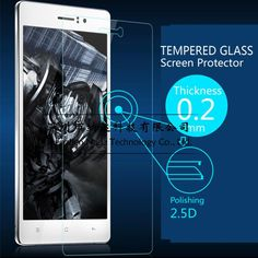 Ultra Thin 0.2mm Premium Explosion-Proof Clear Tempered Glass Screen Protector Film for Sony Xperia M2 S50H Protective Film