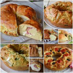 raccolta ciambelle Focaccia Pizza, Focaccia Recipe, Bread Pizza, Lowest Carb Bread Recipe, Low Carb Bread, No Salt Recipes, Cooking Recipes, Pizzeria, Best Italian Recipes