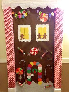 Gingerbread House Door Decor