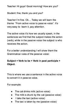 Identifying And Eliminating Passive Voice BlitzMetrics A