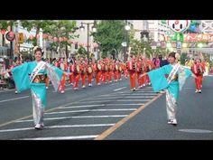 2014 盛岡さんさ踊り 初日の動画 ミスさんさ踊り・ミス太鼓♪