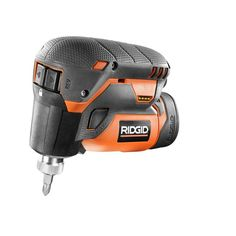 RIDGID 12-Volt Lithium-Ion 1/4 in. Cordless Palm Impact Screwdriver Kit-R8224K - The Home Depot