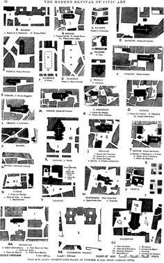 Urban void as a public space IS IT ENOUGH is part of Urban Voids Shared Spaces Deep Within - Camillo Sitte, The Modern Revival of Civic Art, 1889 The Plan, How To Plan, Urban Design Diagram, Urban Design Plan, Landscape And Urbanism, Urban Landscape, Landscape Designs, Architecture Drawings, Architecture Design